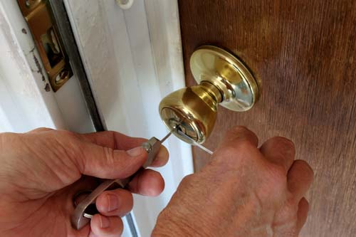 Door Unlocked By Locksmith